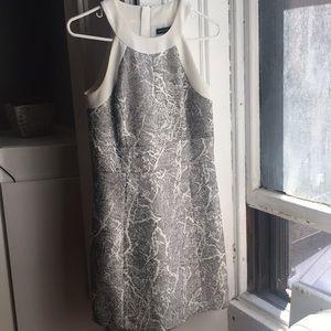 Banana Republic Gray Marble Dress